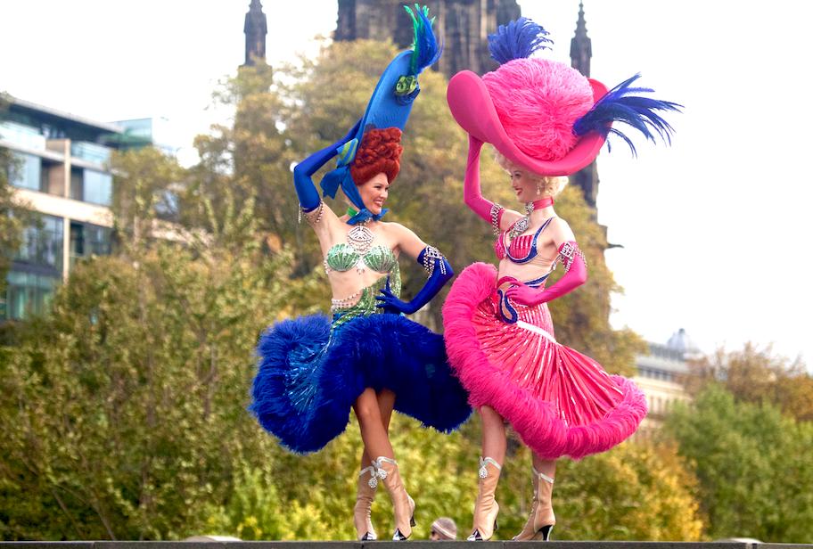 Moulin Rouge dancers 2