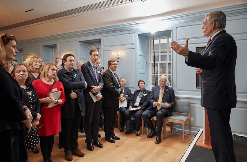 Gordon Brown opens Panmure House