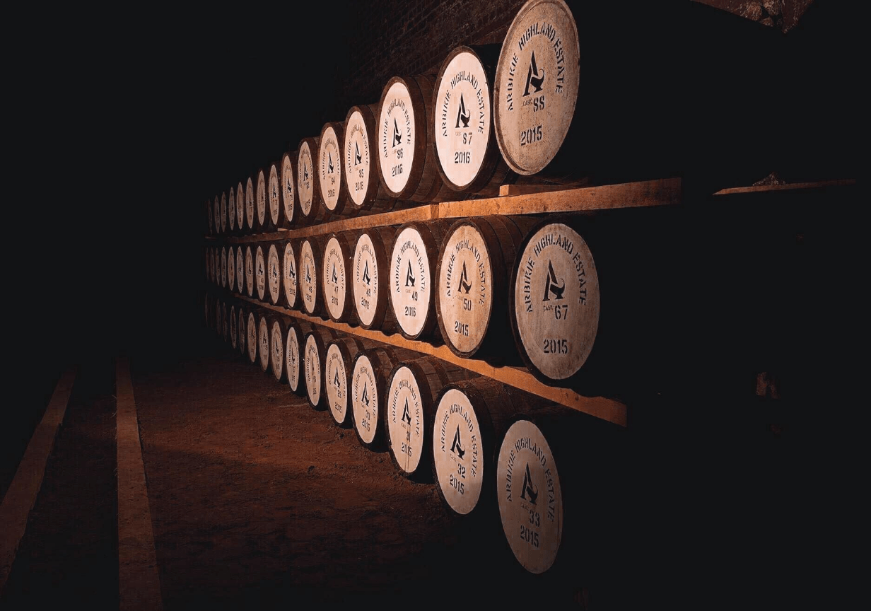 Arbikie barrels