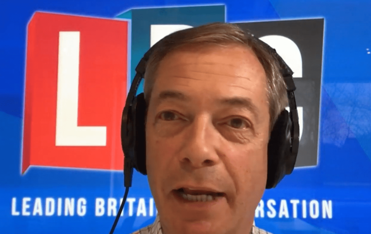 Farage ready to turn screw on May
