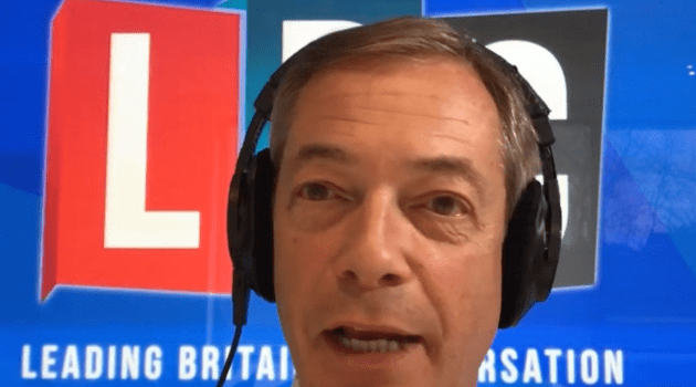Farage ready to turn screw on May's Brexit meltdown