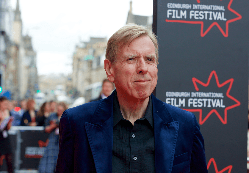 Timothy Spall at the Festival Theatre premiere