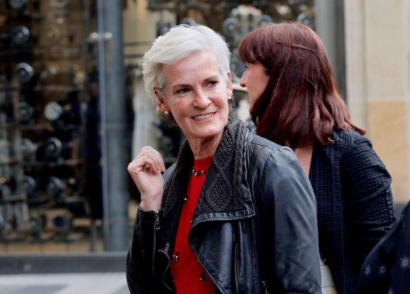 Judy Murray at Ivy