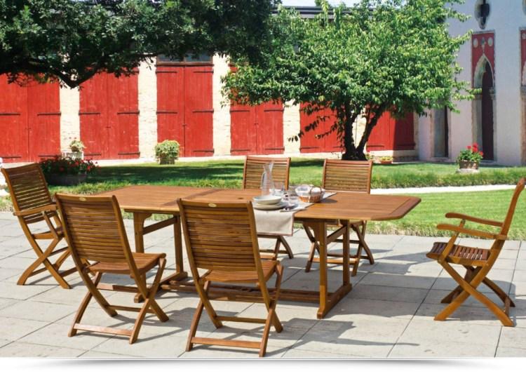 tavolo giardino legno balau