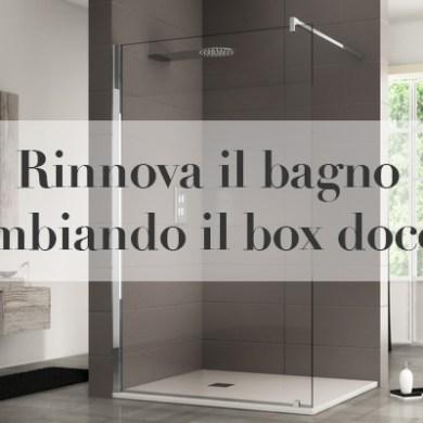 cambiare box doccia