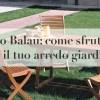 legno balau arredo giardino