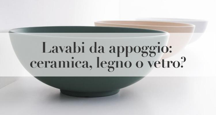 lavabi appoggio