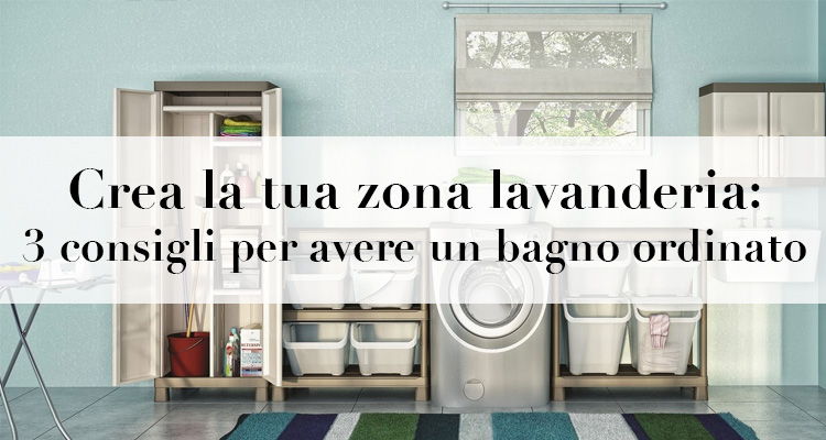 Crea la tua zona lavanderia 3 consigli per spendere poco for Crea la tua planimetria gratis