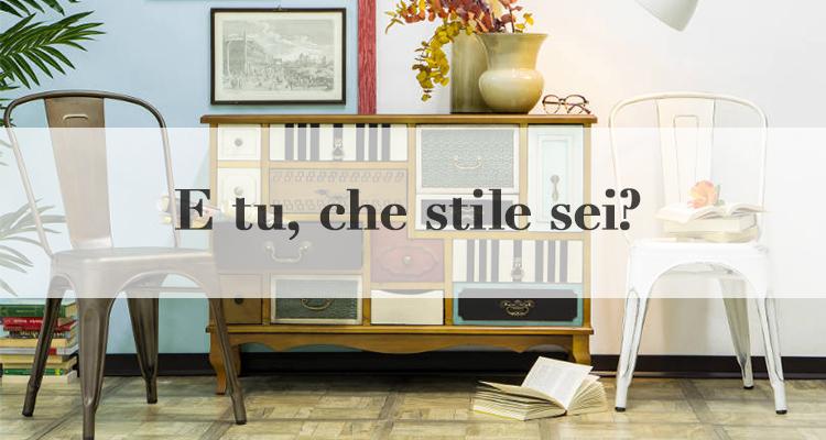 Stili di arredamento 3 look per case di tendenza for Stili arredamento interni