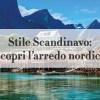 stile scandinavo copertina
