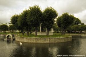 Tallin. Parco di periferia