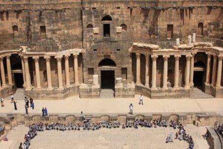 Bosra. Teatro romano