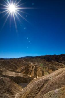 Death valley zabriskie point