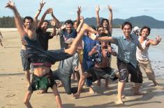 Sulla spiaggia di Kota