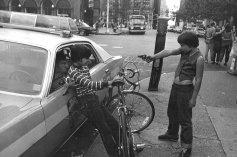 """Gun Play, Street Cops,"" 1979 Jill Freedman"