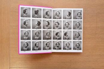 """Il risguardo in apertura del libro """"Donne è bello"""", Liliana Barchiesi, Postcart Edizioni, 2020"""