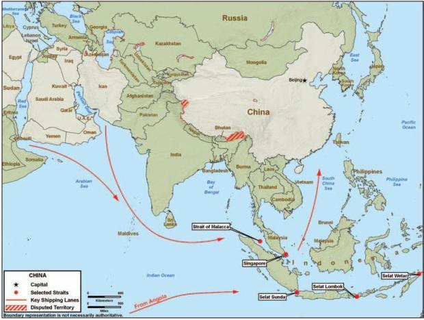 Asean_China_map