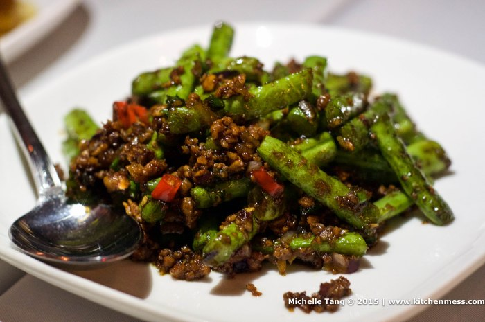 Sichuan-style green beans