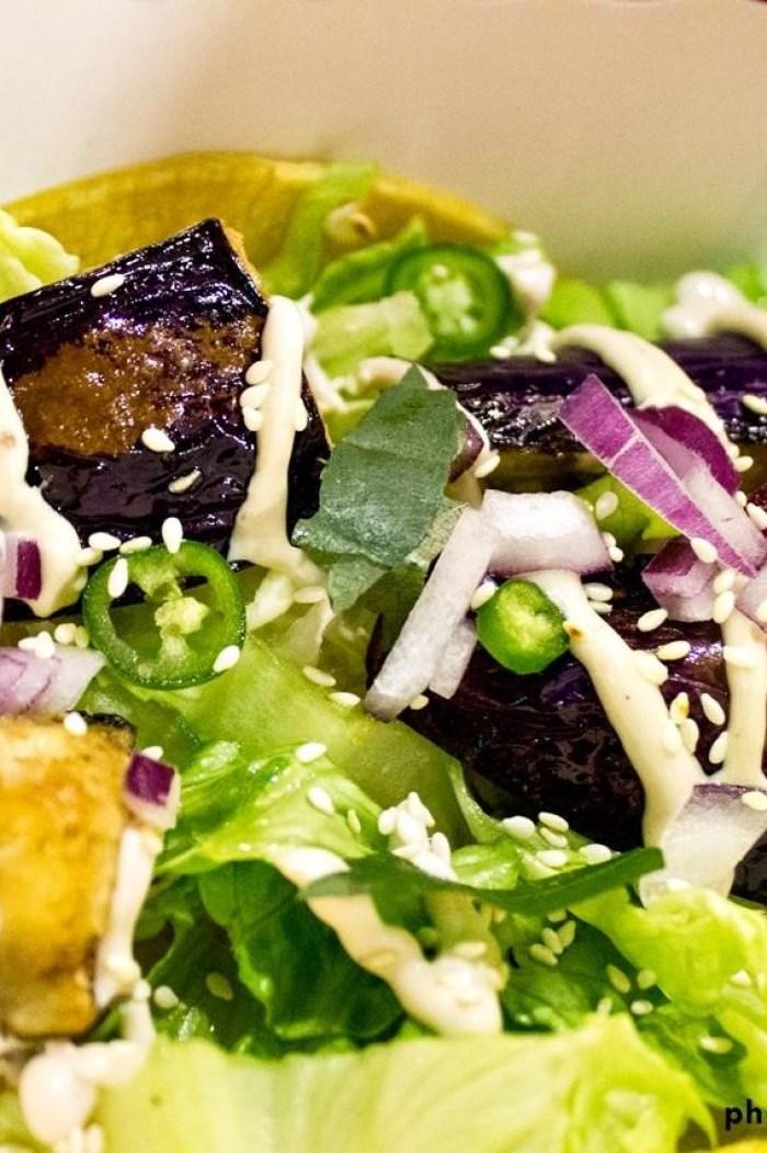 Eggplant taco at TaKorea | foodpanda Magazine