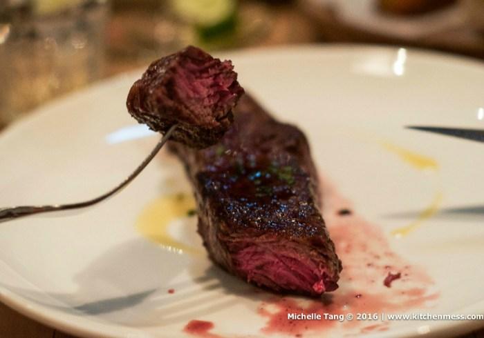 Steak at Atelier Vivanda