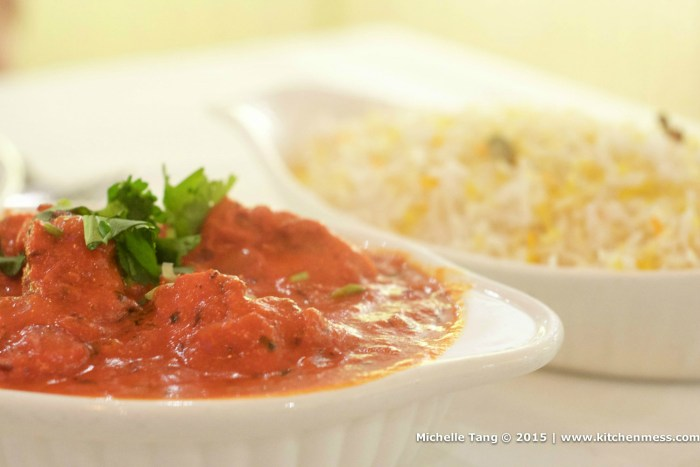 Chicken Tikka Masala, Saffron Biryani Rice