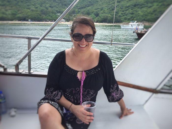 strangers on a boat Nicole