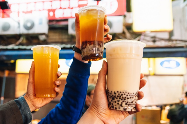 Types of Tea in Bubble Tea