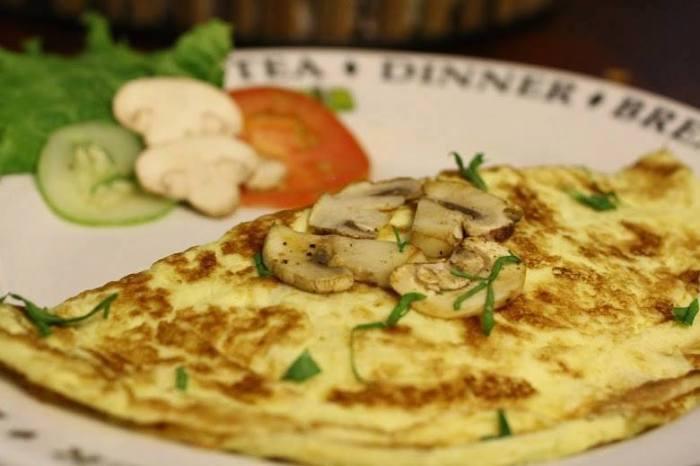 Cheese & Mushroom Omelette | foodpanda Magazine