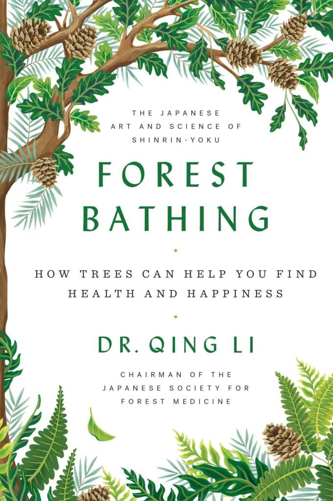 forest bathing book cover design