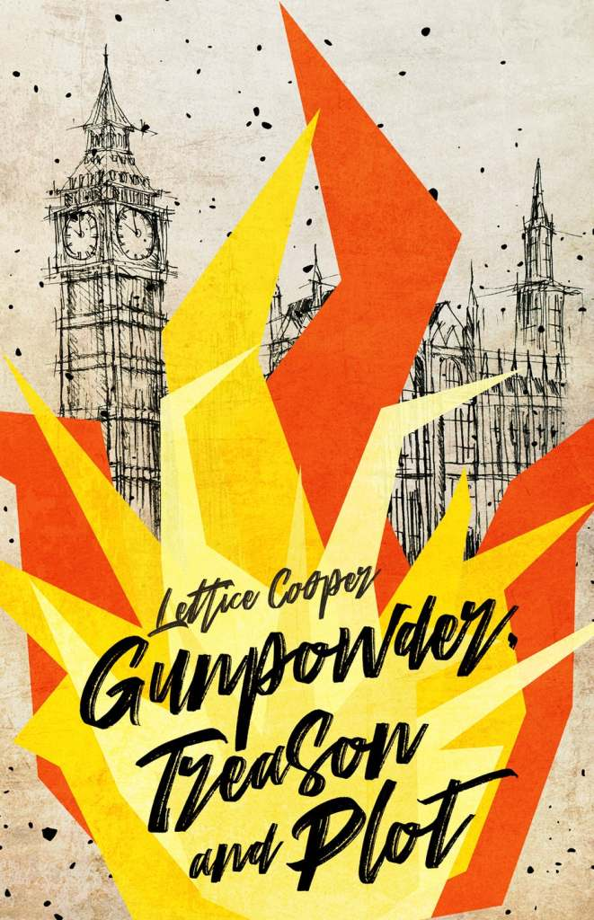 gunpower book cover design