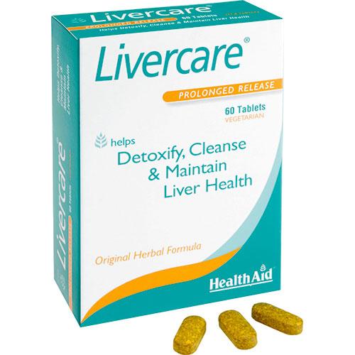 Come depurare il fegato - Livercare di HealthAid