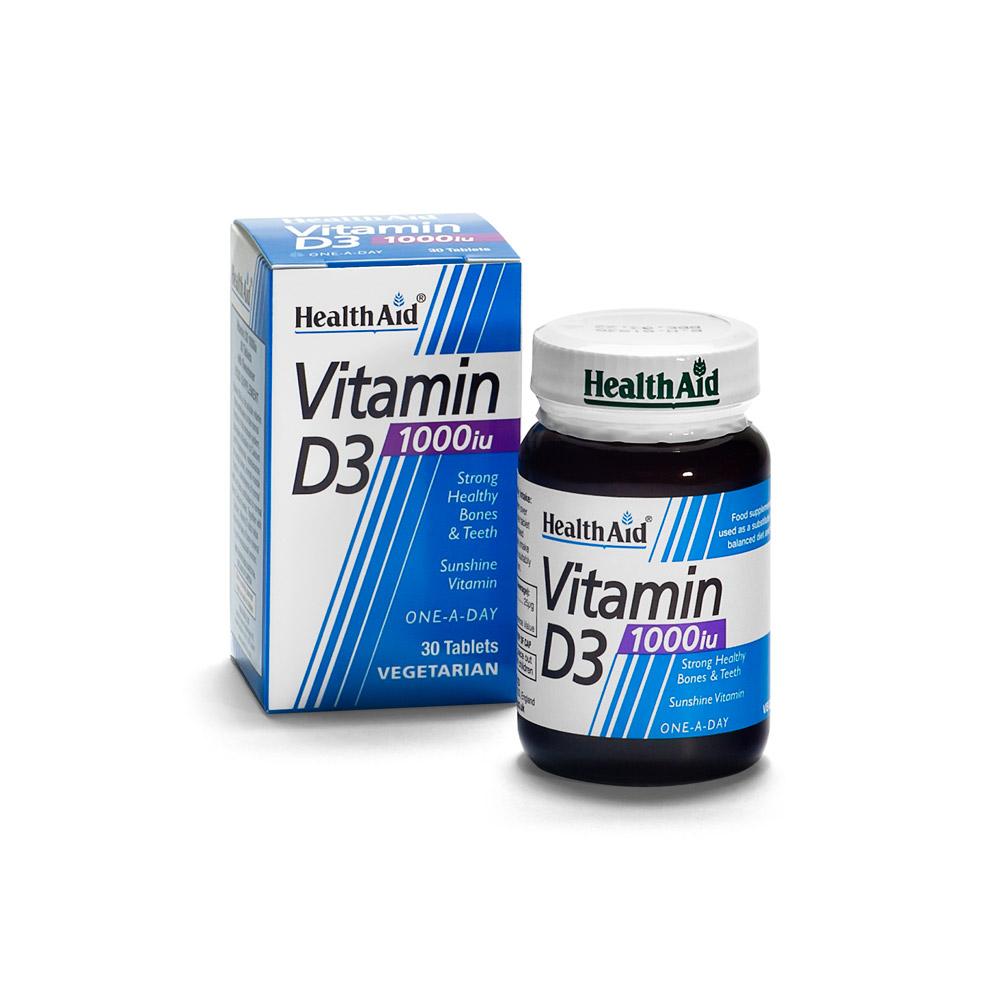 Vitamin D3 - HealthAid per lo sport all'aria aperta