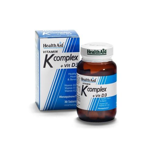vitamin k healthaid con vitamina d - integratore alimentare