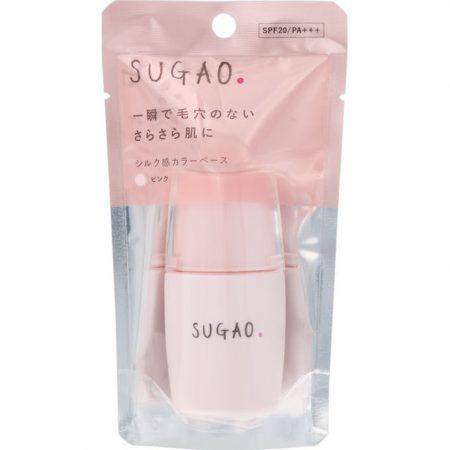 ロート製薬SUGAO シルク感カラーベース ピンク