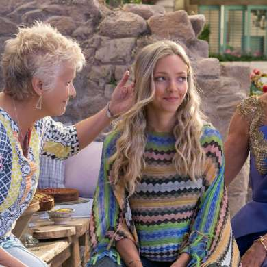 Mamma Mia ! Here We Go Again Christine Baranski, Amanda Seyfried and Julie Walters