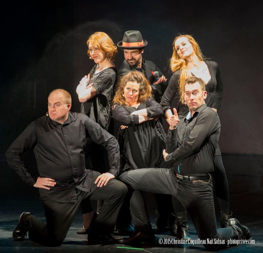 L'équipe de New la comédie musicale improvisée