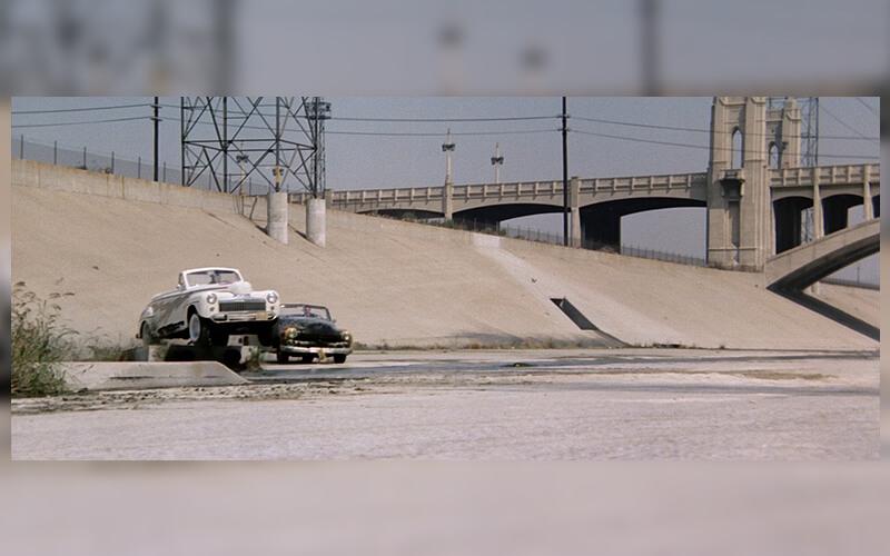 Grease course de voiture