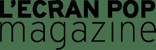 Logo L'Ecran Pop Magazine Black