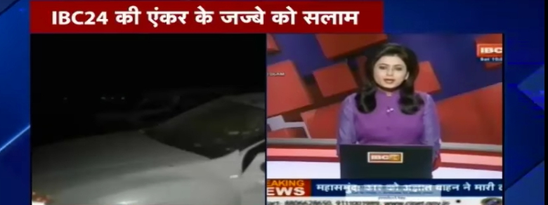 Giornalista dà la notizia della morte del marito in diretta