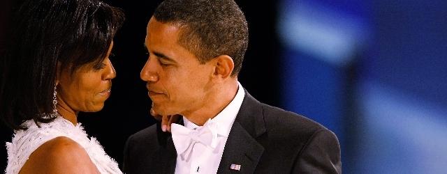 I romantici auguri di Michelle al suo Barack