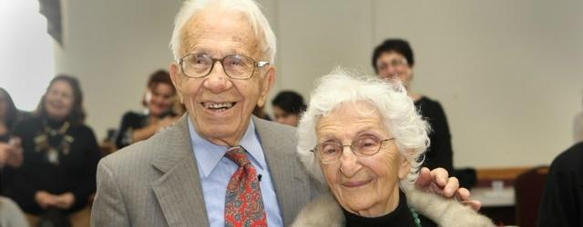 Il sentimento vero di una coppia insieme da 81 anni