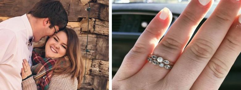 L'anello di fidanzamento che ha fatto il giro del web