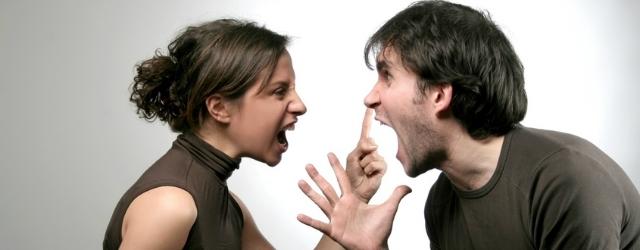Le frasi che irritano durante un litigio di coppia