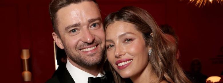 Quel dolce bacio tra Justin Timberlake e Jessica Biel