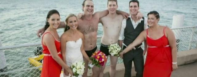 Salvano un pescatore durante le nozze: accade in Australia