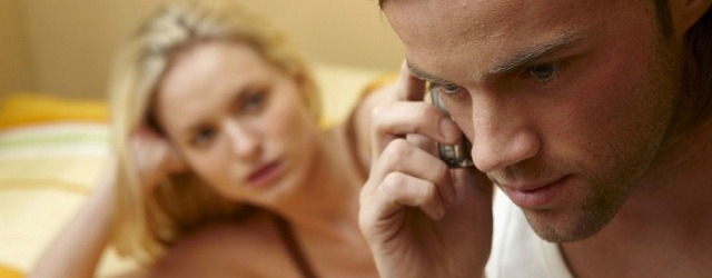 Utilizzare lo smartphone durante un rapporto intimo
