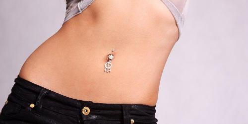 piercing ombelico cura