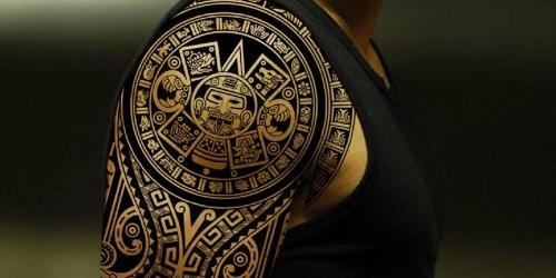 tatuaggio guerriero maori