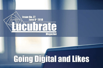 Lucubrate Magazine Issue 27, June 8th, 2018
