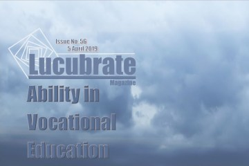Ability in Vocational Education. Lucubrate Magazine, Issue 56, 2019
